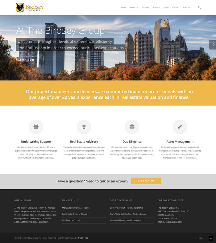 The Birdsey Group - New Site