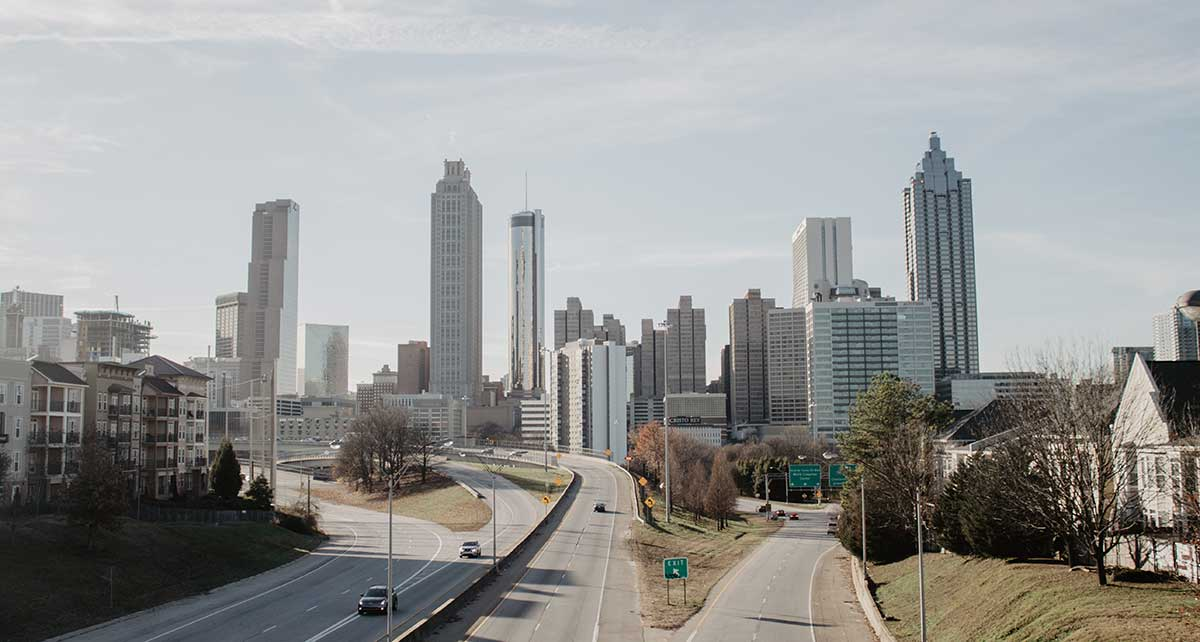 Skyline of Atlanta during the day